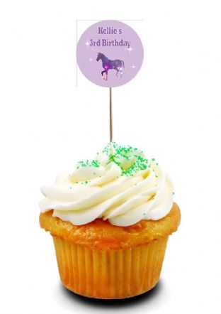 Unicorn Cupcake Picks/Toppers